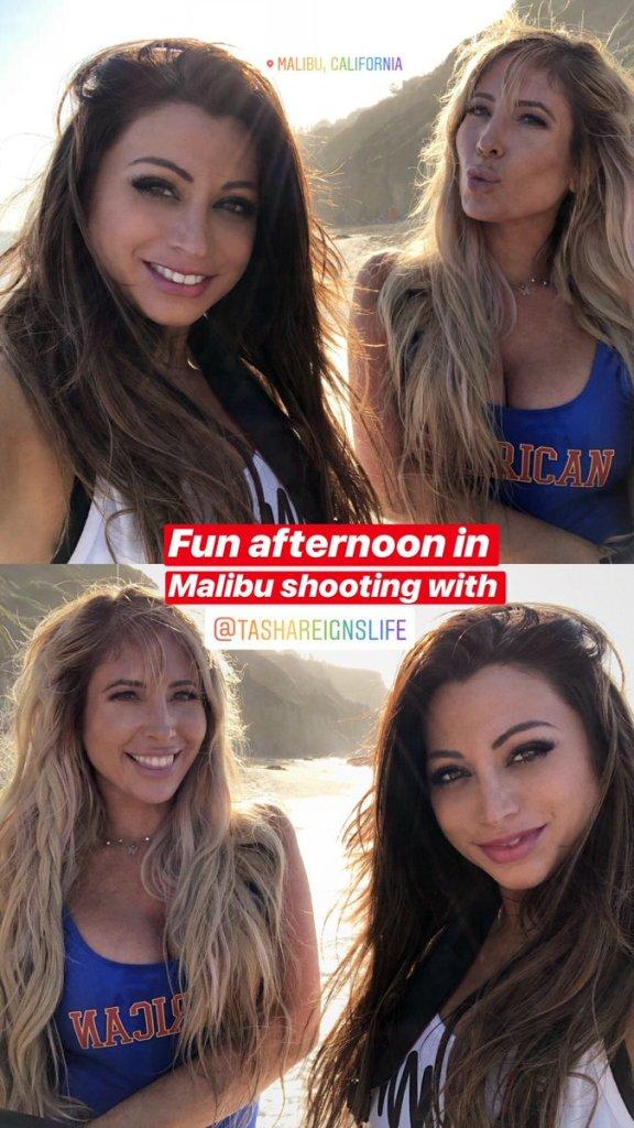 Playboy Playmate Jessica Vaugn and Adult Film Star Tasha Reign